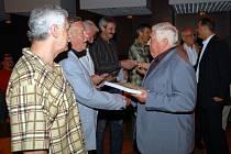 Ocenění zasloužilých členů klubu házené KH Kopřivnice proběhlo v rámci oslav 50 let založení klubu.