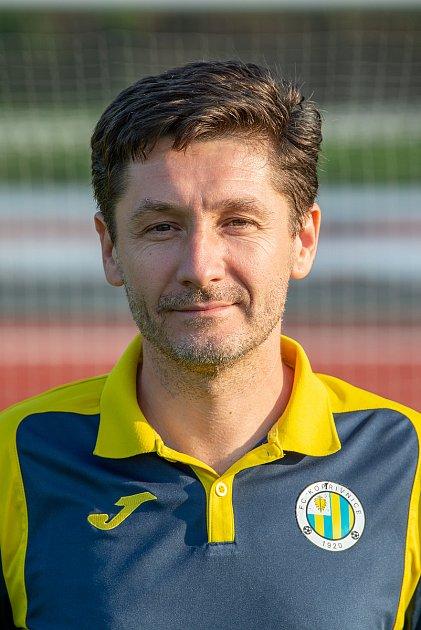 Fotbalový klub FC Kopřivnice, 24.září 2020.Jaroslav Colbert - předseda klubu