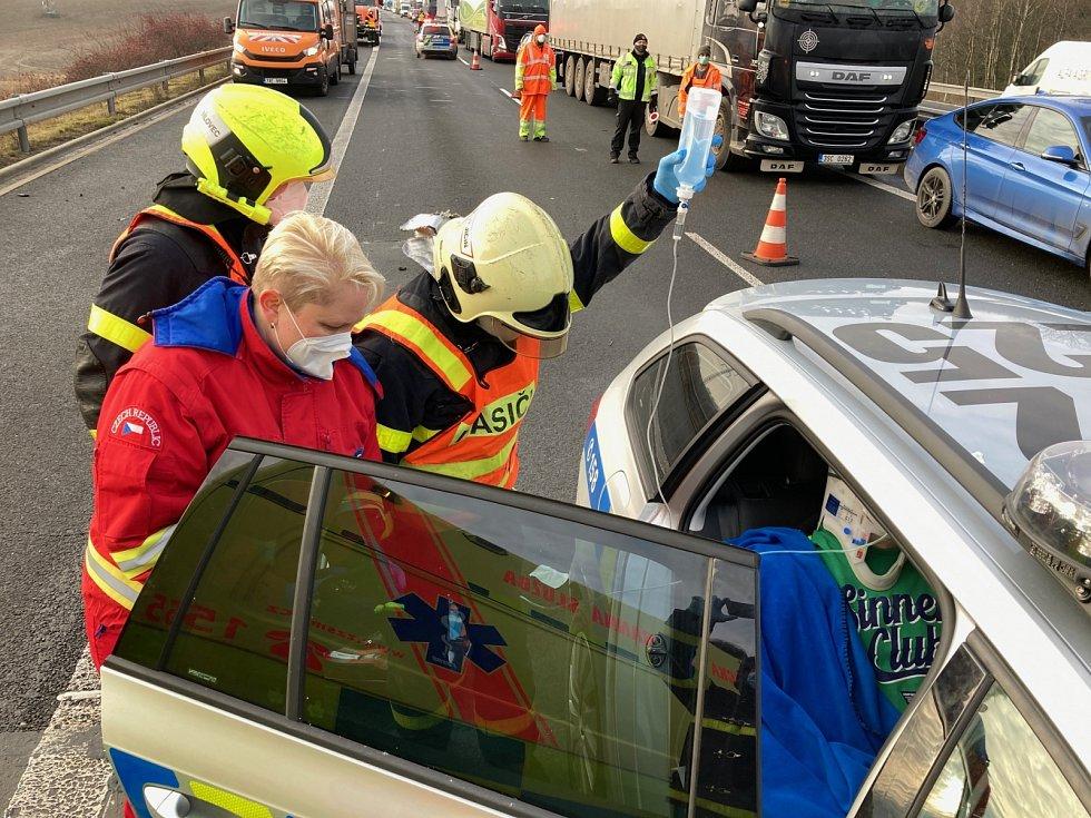 Zásah hasičů na Novojičínsku.