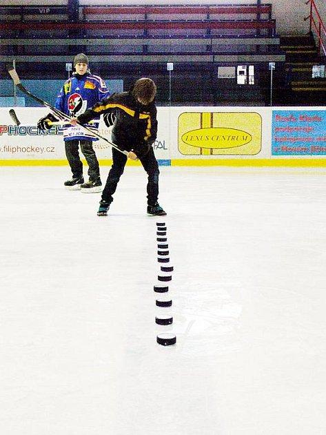 Akce pro fanoušky novojičínského hokejového klubu, soutěž o místo na střídačce během mistrovského utkání, zná pětici finalistů.
