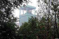 Těžební věže Dolu Frenštát.