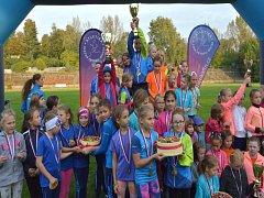 Kopřivnický atletický klub se může pochlubit širokou mládežnickou základnou, která sbírá řadu úspěchů.