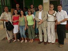 Novojičínští lékaři se v Ghaně setkali také s českým velvyslancem.