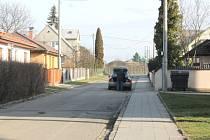 Ulice Boženy Němcové v Bílovci.