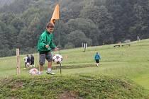 Fotbalgolfové hřiště v Rybí.