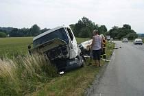 K vážné dopravní nehodě v Bravanticích, na silnici I/47, spojující Klimkovice a Bílovec, vyjížděli ve čtvrtek 3. července kolem půl jedenácté dopoledne hasiči.