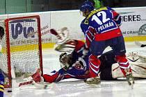 Snímky z utkání HC Gedos Nový Jičín – HZ Zubr Přerov 2:5 (1:1, 0:4, 1:0).