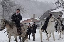 Dávnou tradici, kterou v Lukavci, místní části Fulneku, dodržují už od doby po Bílé hoře, nepřerušilo ani nevlídné počasí,