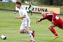 Fotbalisté Nového Jičína vyhráli pohárové předkolo s Lískovcem a mohou se těšit na 1. kolo Poháru České pošty proti Hlučínu.