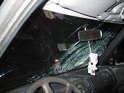 Řidič srazil chodkyni na přechodu v Mošnově ve čtvrtek 7. ledna.