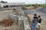 Stavba sběrného dvora v Příboře by měla být dokončená do konce roku 2021. Foto archiv města Příbor