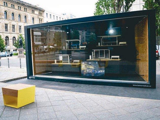 Projekt Sdílko na měsíc zpestří život v centru města Kopřivnice. Podobné kontejnery City Modul mají jiř nějakou dobu také například v Berlíně (na snímku).