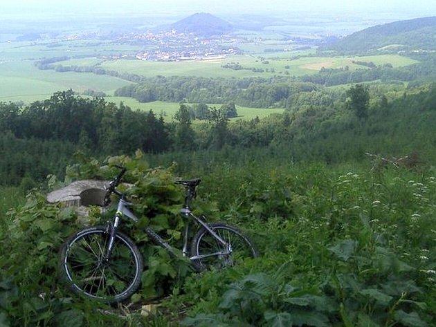 Dřina stojí za to. Pohled na Starý Jičín a okolí z Petřkovické hory je překrásný.