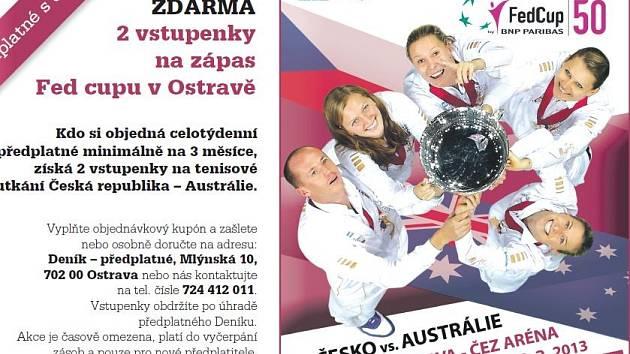 FedCup: Česko - Austrálie