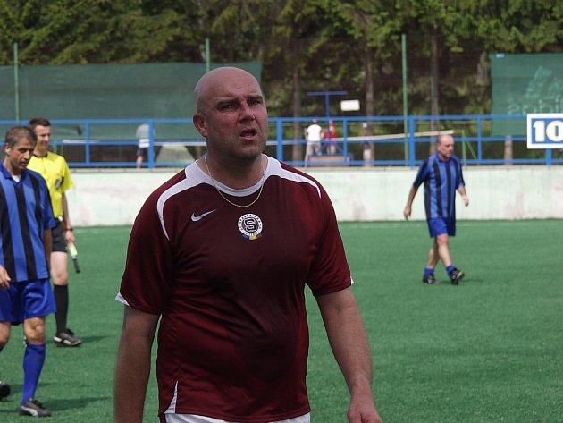 Pravidelným účastníkem zápasů staré gardy pražské Sparty je i odchovanec kopané ze Studénky a Vítkovic Marek Trval.