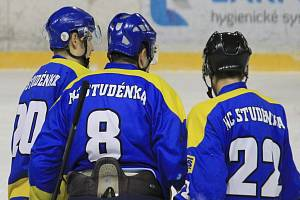 Hokejisté Studénky.