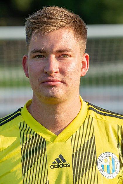 Fotbalový klub FC Kopřivnice, 24.září 2020.Marek Makový - obránce