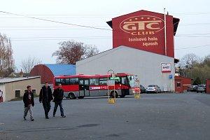 Autobusové nádraží v Bílovci