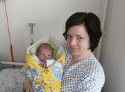 ŠTĚPÁN MICHUT s maminkou, Frenštát pod Radhoštěm, nar. 8. 5. 2016, 53 cm, 3,90 kg. Nemocnice ve Frýdku-Místku.