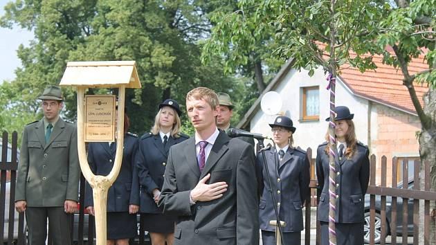 Lípa jménem Lubomír bude budoucím generacím připomínat rok 2014, kdy obec Luboměř oslavila 620. výročí od svého založení.