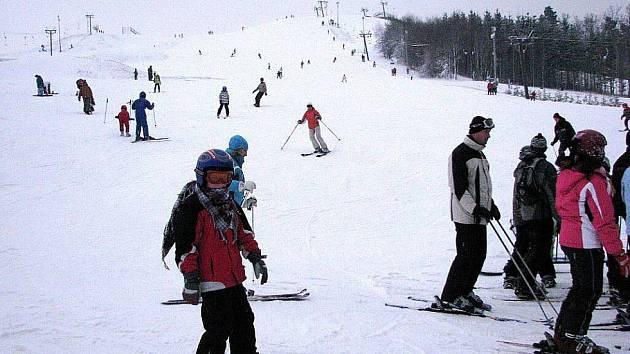 Zimní zábava HEIPARKU v Tošovicích.