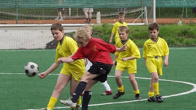 Mc Donald´s Cup přilákal družstva z více než tří desítek škol Novojičínska.