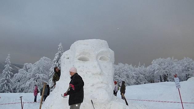 Patnáctý ročník Sněhového království přinesl krásnou podívanou.