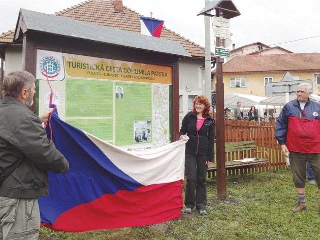 Na svého významného rodáka v Lukavci nezapomněli. I díky několika místním nadšencům byl letos Bohumil Pater uveden do Síně slávy české turistiky.