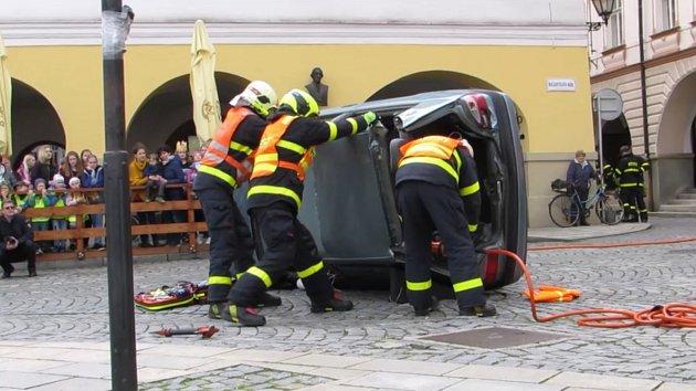 Oslavy 50 let profesionální jednotky požární ochrany