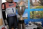 """Projekt """"50 let od zlata"""" představily v pondělí 5. února město Frenštát pod Radhoštěm a spolek SnowKidz. Projekt má připomenout historicky první zlatou medaili ze zimní olympiády, kterou vybojoval Jiří Raška."""
