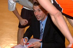 Trenér Unibonu Nový Jičín Zbyněk Choleva