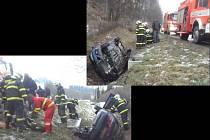 Dopravní nehoda v Novém Jičíně-Bludovicích