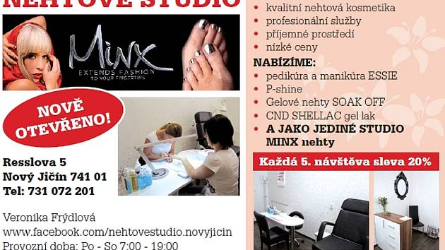 Nehtové studio.