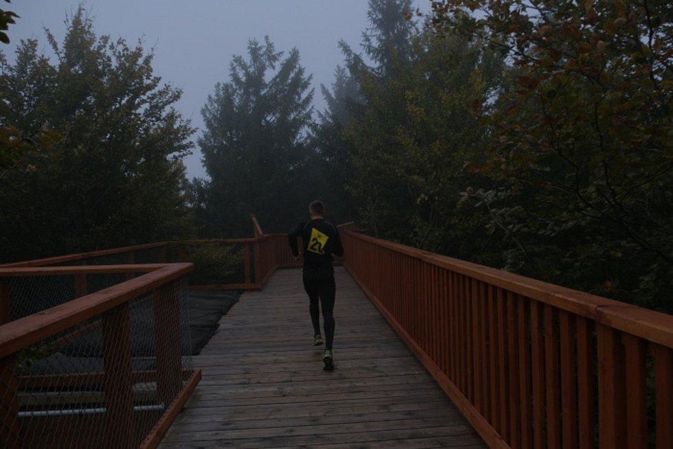 Extrémní běh na Pustevny ovládl triatlonista Lukáš Krpec.