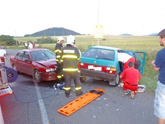V pondělí 9. srpna došlo za Novým Jičínem ke střetu dvou vozidel.