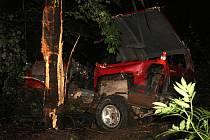 Dopravní nehodu, která se stala na neobvyklém místě, řeší v současnosti novojičínští policisté. Ta se stala v pondělí 1. srpna krátce po osmé hodině večerní na komunikaci vedoucí k rozhledně na Bílé Hoře v Kopřivnici.