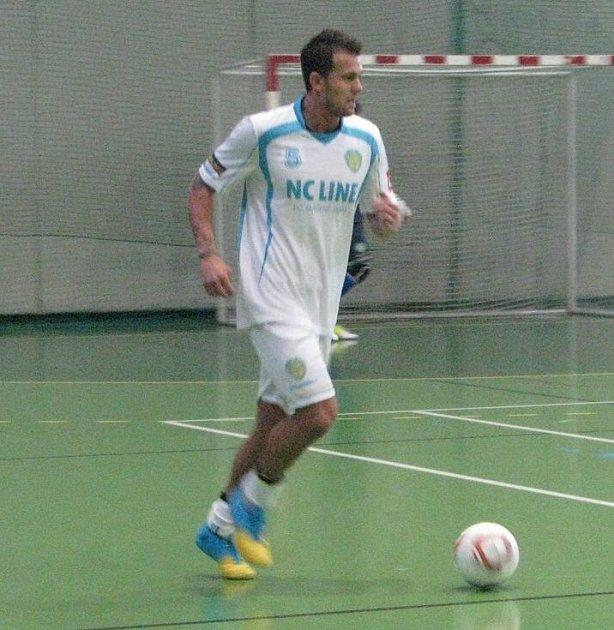 Futsal Cup nejlepší střelec Zapalač Petr.