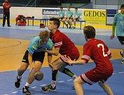 Premiérový ročník mezinárodního mládežnického turnaje Laudon Handball Cup v Novém Jičíně.