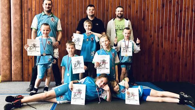 Zápasníci z Tiché byli úspěšní na několika turnajích.