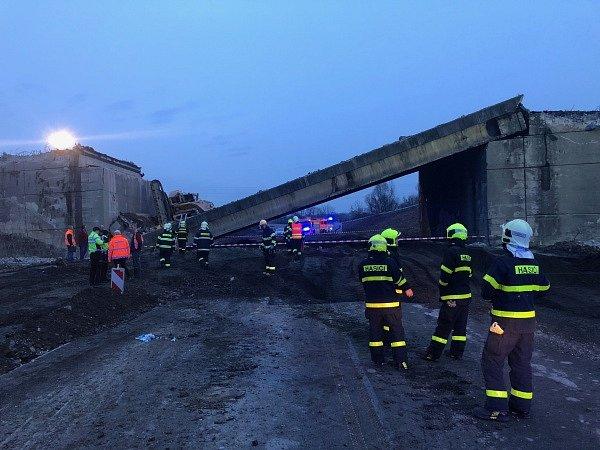 Spadlý most v Příboře, 10. březen 2018