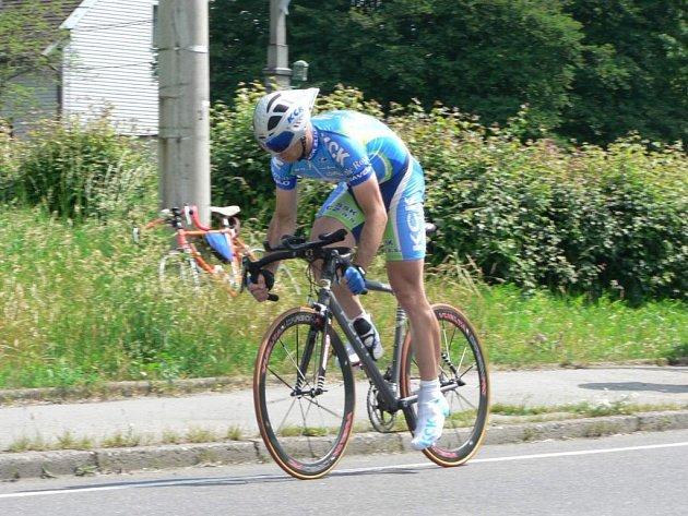 Tomáš Celta vyhrál kategorii mužů B (30 až 39 let) a zároveň se stal absolutním vítězem časovky O cenu Bohumína.