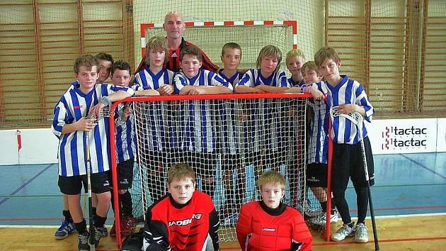 Vítězové Jaga Oxygen Cupu 2008, chlapecké družstvo ZŠ Emila Zátopka Kopřivnice.