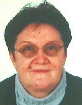 Pohřešovaná Anna Chorvátová z Frenštátu pod Radhoštěm.
