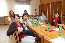 Školení zájemkyň o dobrovolnictví v Bílovecké nemocnici. Ilustrační foto.