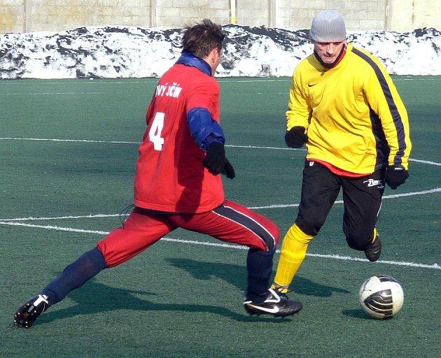 Fotbalisté Nového Jičína střelecky ovládli derby s Valmezem, které porazili jasně 5:0.