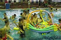 Děti soutěžily v neobvyklých disciplínách.