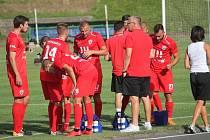 Fotbalisté Nového Jičína uhráli s lídrem tabulky Slavičínem remízu
