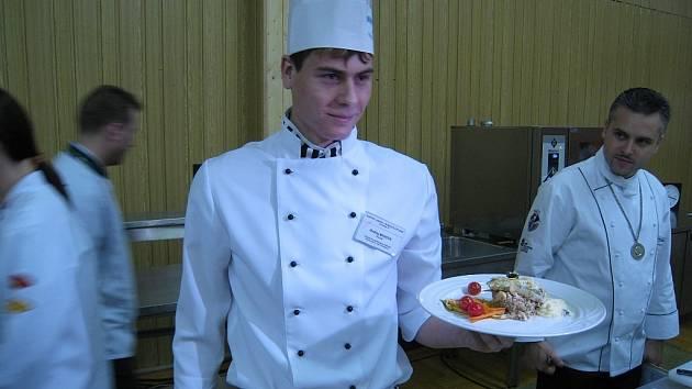 Mladí kuchaři bojovali o postup.