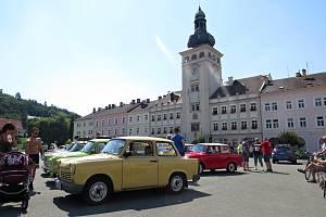Trabanty a Fulnek. První setkání milovníků trabantů se uskutečnilo od pátku 7. srpna do neděle 9. srpna 2020 ve Fulneku.