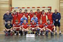 Házenkáři Kopřivnice po semifinálové výhře nad pražskou Duklou sahali po skalpu Zubří ve finále poháru.